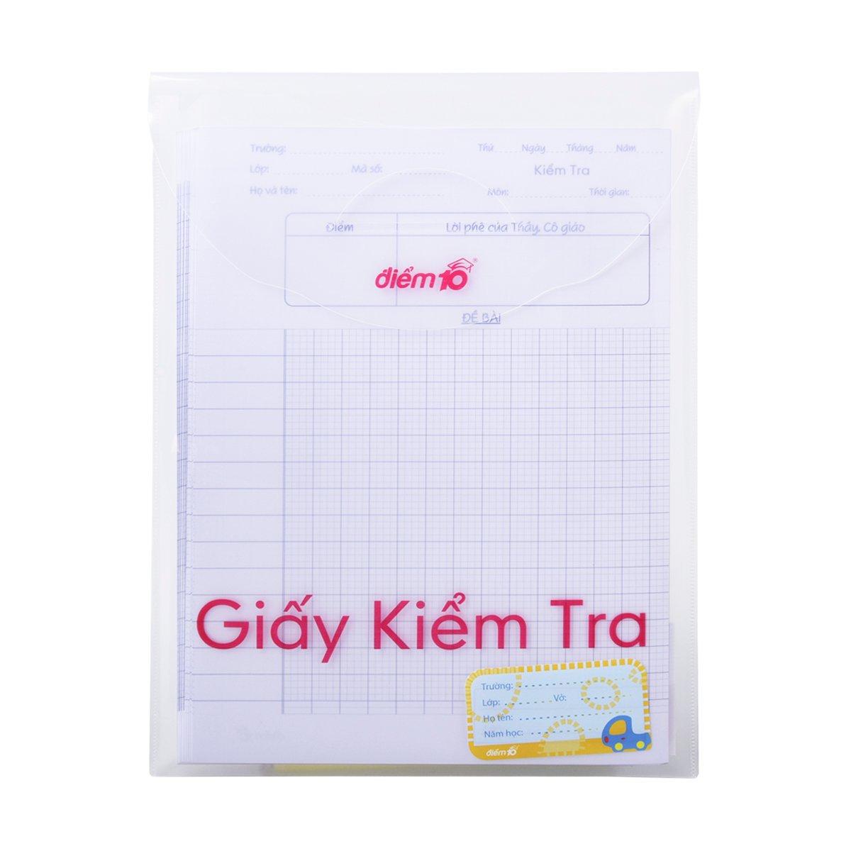 Giấy kiểm tra TP-GKT02 4 ôly vuông